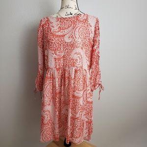 Asos Tie Up Detail Size 10 Dress
